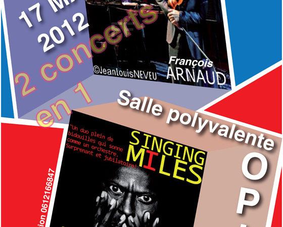 FRANCOIS ARNAUD – JY CANDELA & SINGING MILES