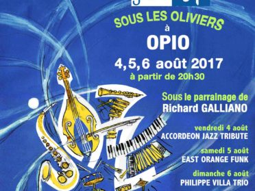 JazzUP sous les Oliviers 04-05-06 août 2017